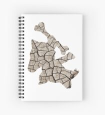 Marowak used earthquake Spiral Notebook