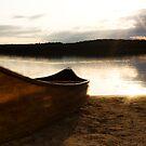 Sunrise over Eagle Lake (2) by LisaPiellusch