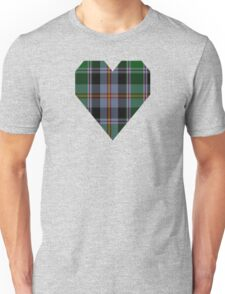 00132 Colorado District Tartan Unisex T-Shirt