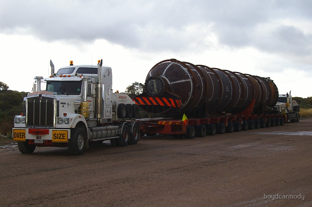 MOVING 200 TON MINE PLANT IN ONE PIECE by boydcarmody