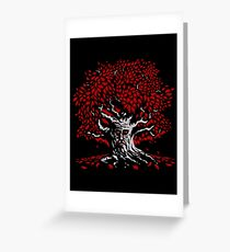 Winterfell Weirwood Greeting Card