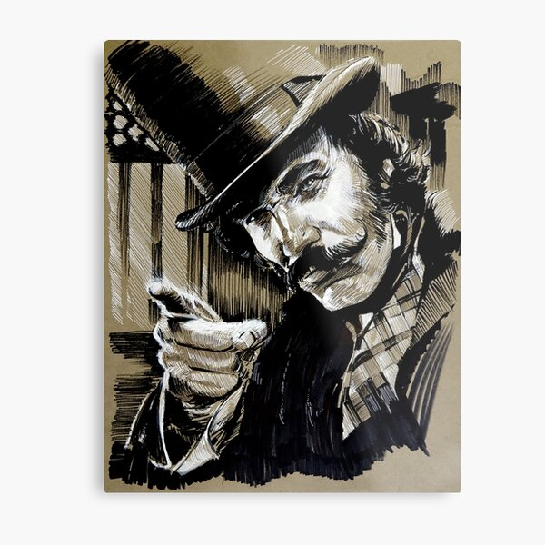 Bill, from Gangs of New York Metal Print
