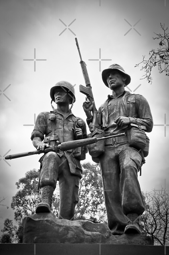 Adelaide Monument - Vietnam War Memorial by Clintpix