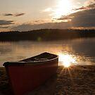 Sunrise Over Eagle Lake (4) by LisaPiellusch