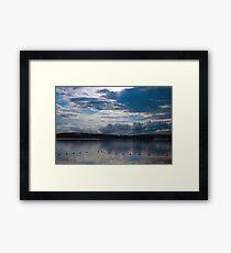 Sunrise Over Eagle Lake (6) - Mikisew Provincial Park Framed Print