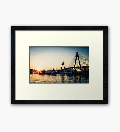 Anzac Afternoon Framed Print