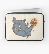 Rhino Burger YUM! Laptop Sleeve