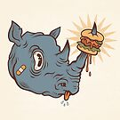 Rhino Burger YUM! by strangethingsA