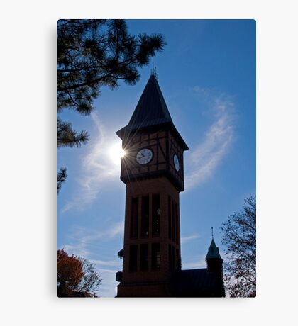 Clock Tower in Kentucky Canvas Print