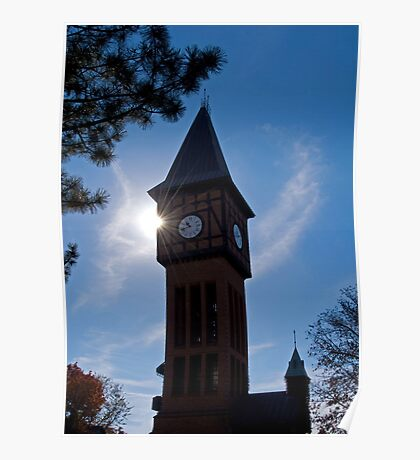 Clock Tower in Kentucky Poster