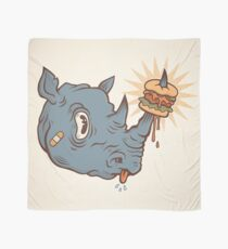 Rhino Burger YUM! Scarf