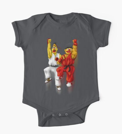 Sesame Street Fighter: Beryu & Kernie Kids Clothes