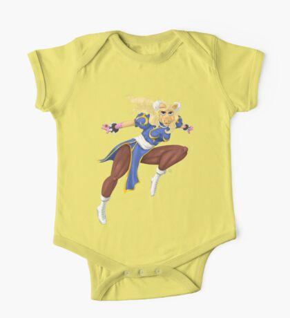 Sesame Street Fighter: Pig-Li Kids Clothes