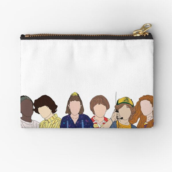 stranger things 3 Zipper Pouch