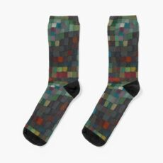 Paul Klee Detail Socks