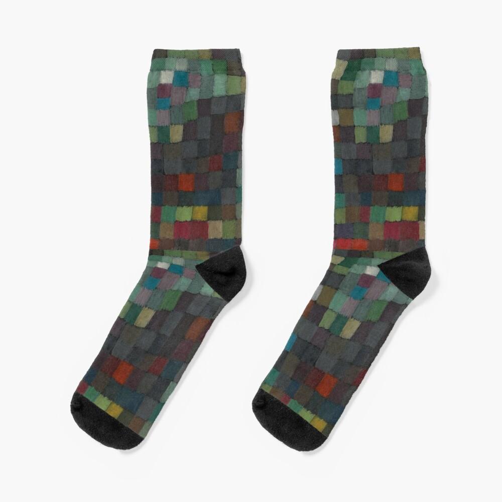 Paul Klee Detail Socks