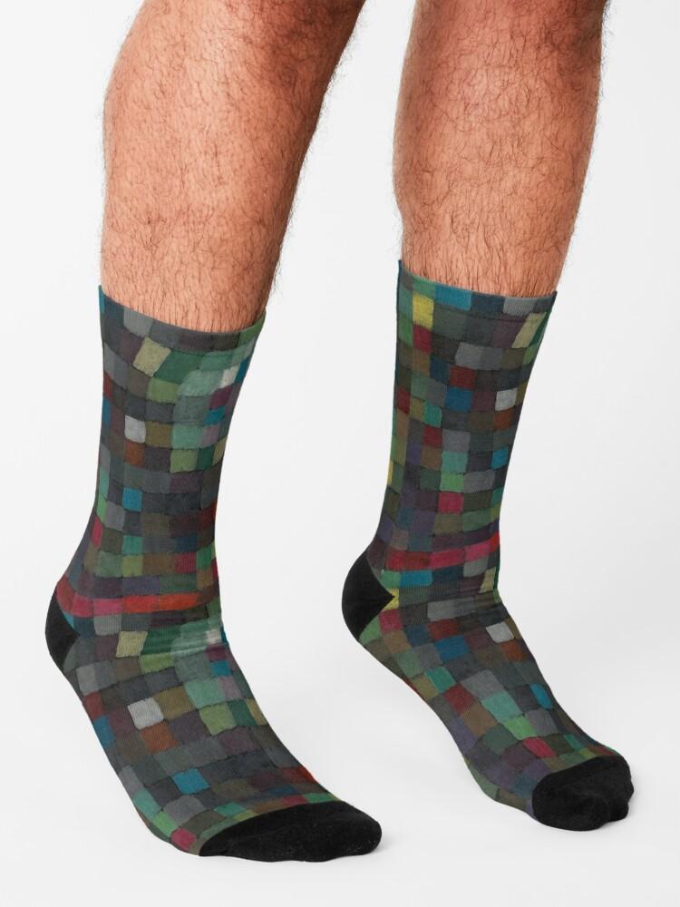 Alternate view of Paul Klee Detail Socks