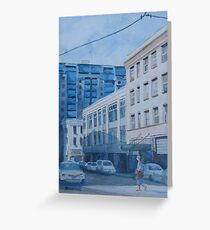 Afternoon on SW 11th Street Greeting Card