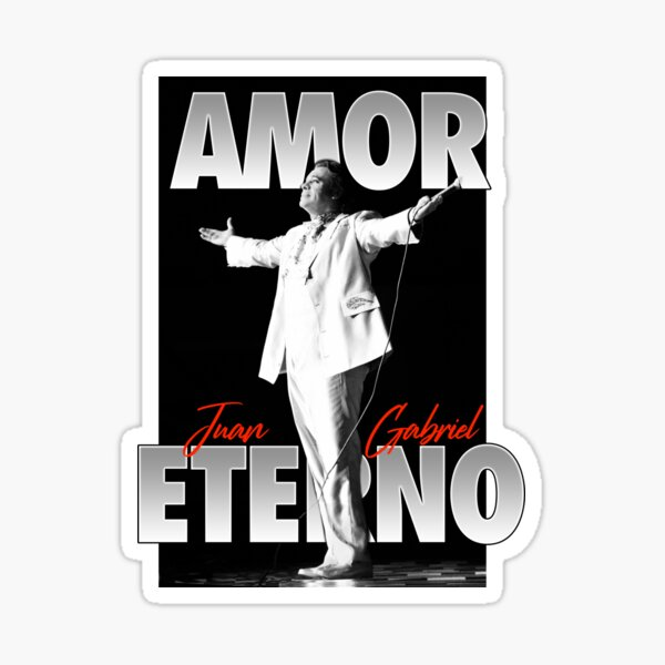 Juan Gabriel Amor Eterno Pegatina