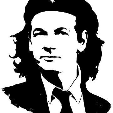 Julian Assange Ché T-shirt by chassange