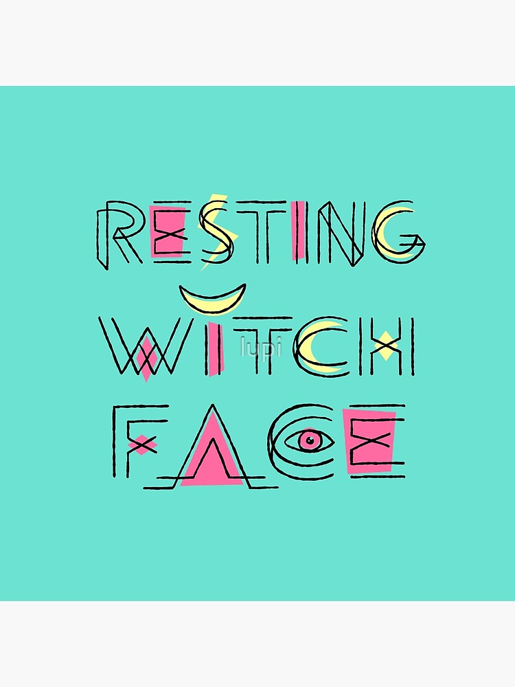 Resting Witch Face by lupi