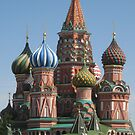 St Basil's Church, Moscow by Daphne Gonzalvez