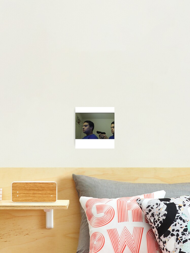 Trust Nobody Not Even Yourself Meme Photographic Print By Arpitalasker Redbubble Bruh i'm not even laughing at the meme i'm laughing at the god damn comment section. redbubble