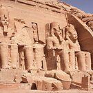 Abu Simbel by Scott Carr