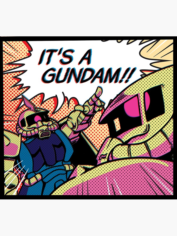 IT'S A GUNDAM!! by NickEck