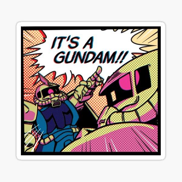 IT'S A GUNDAM!! Sticker