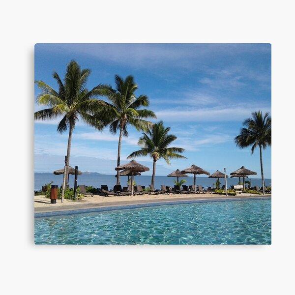 FIJI Islands Paradise Palms Canvas Print