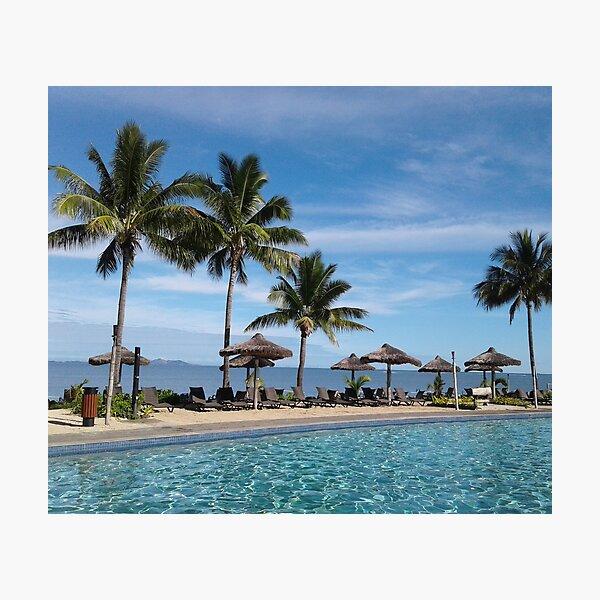 FIJI Islands Paradise Palms Photographic Print