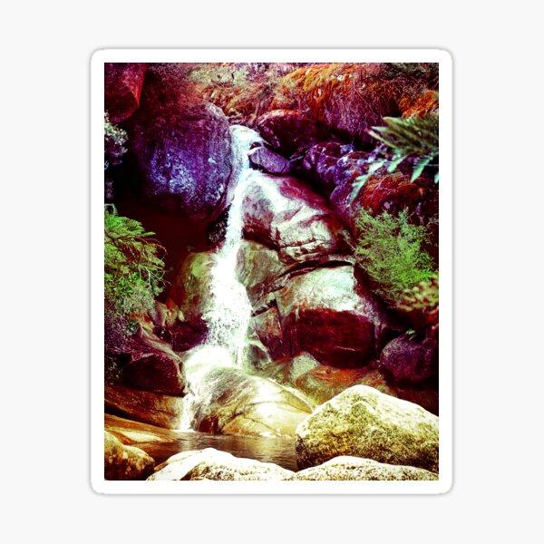 Lady Bath Falls Sticker