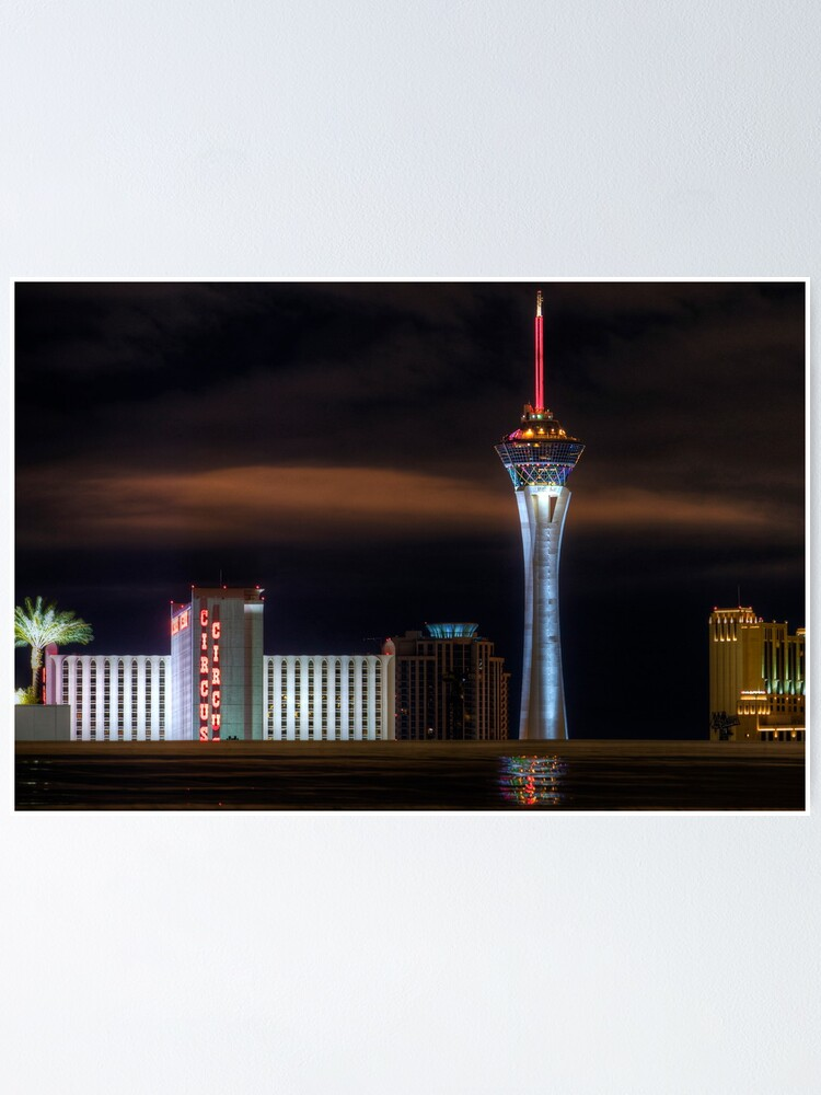 Alternate view of The Stratosphere after the Rain Poster