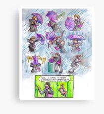 Wasted Talent - Umbrella Fail Metal Print