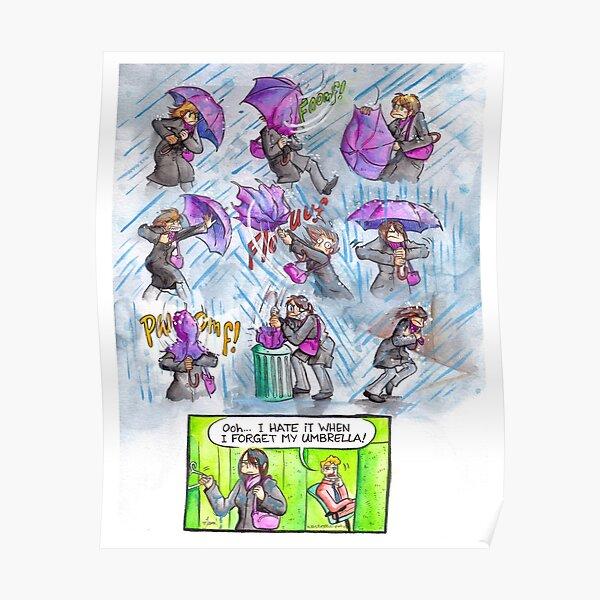 Wasted Talent - Umbrella Fail Poster