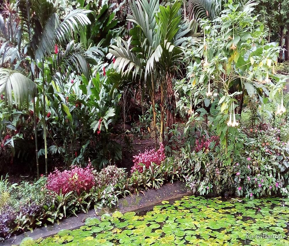 FIJI Islands Paradise Garden by KarenBarron