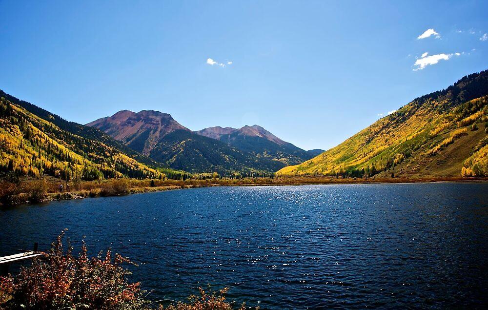A beautiful mountain pond by Ann Reece