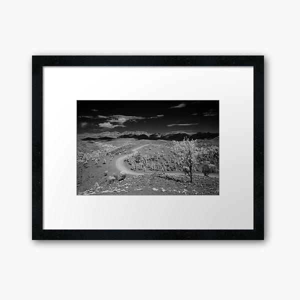 Bunyeroo Valley View Framed Art Print