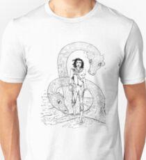 Water Dragons Original Illustration Unisex T-Shirt