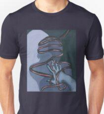 Fallen ribbon shadows Unisex T-Shirt