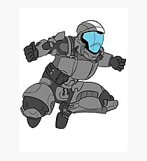 Jumping ODST Photographic Print