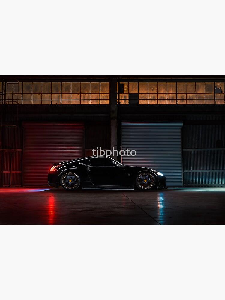 Light Painted Nissan 370Z by tjbphoto