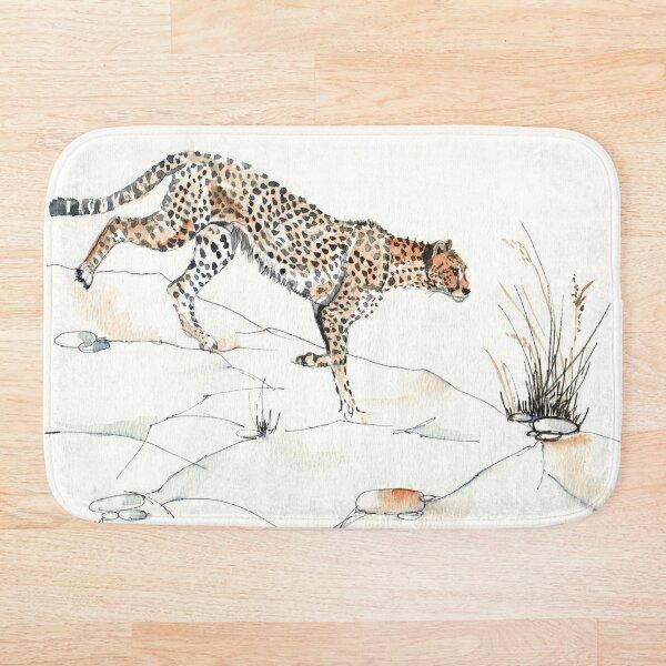 Majestic Cheetah Bath Mat