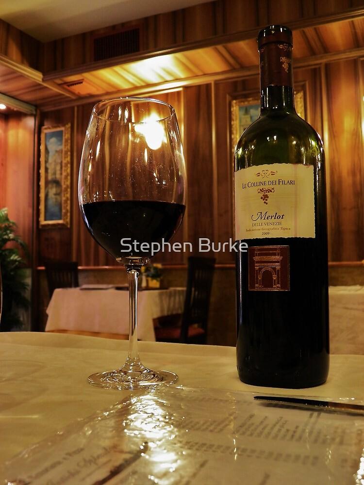 The glass 'half full' by Stephen Burke