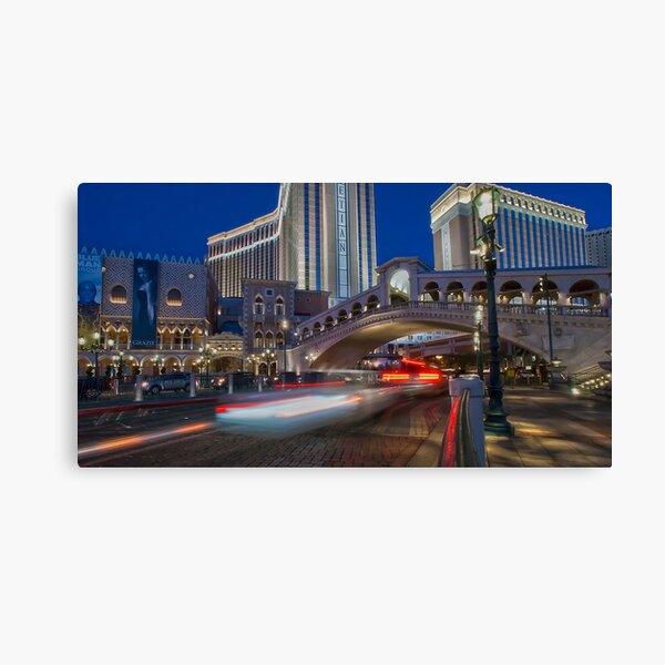The Rialto Bridge Underpass - Las Vegas Canvas Print
