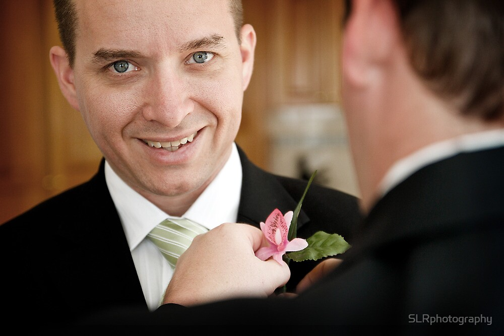 Grooming the Groomsman by SLRphotography