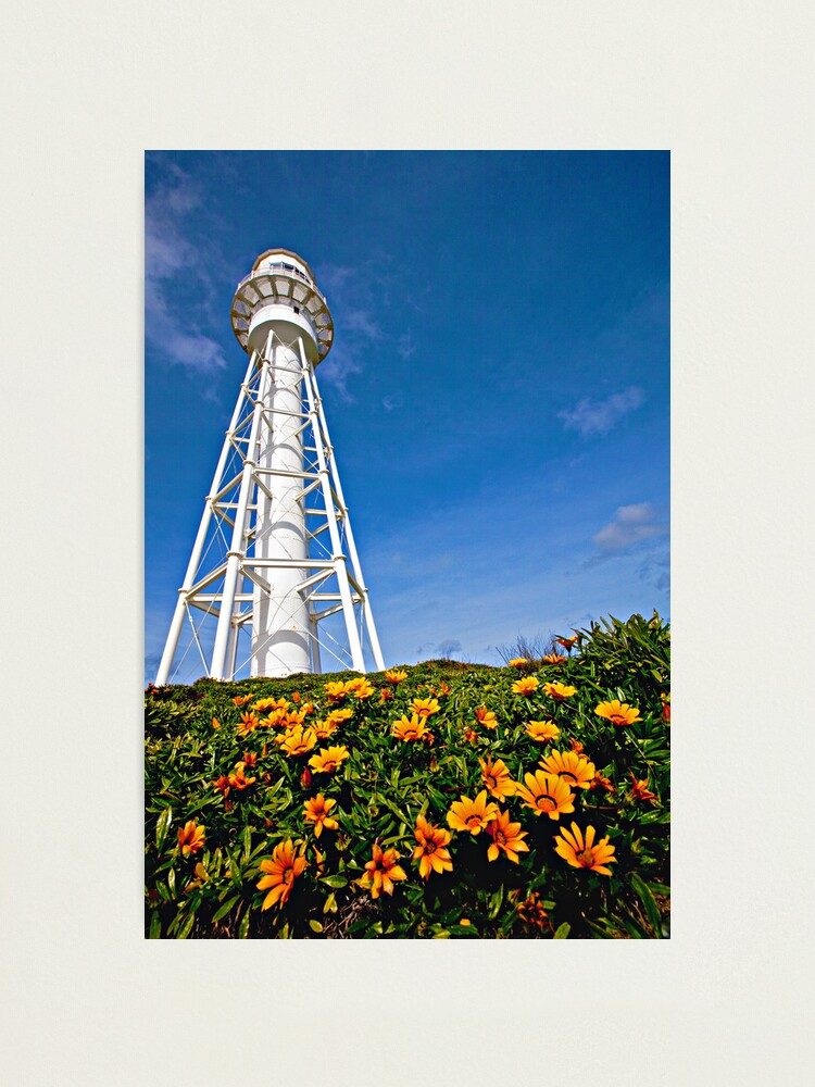 Alternate view of Currie Lighthouse - King Island, Tasmania Photographic Print