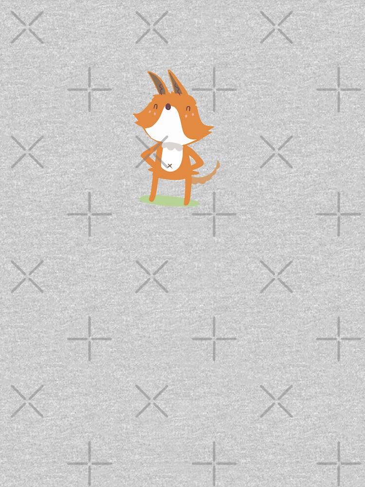 I am a Fox by tofusan