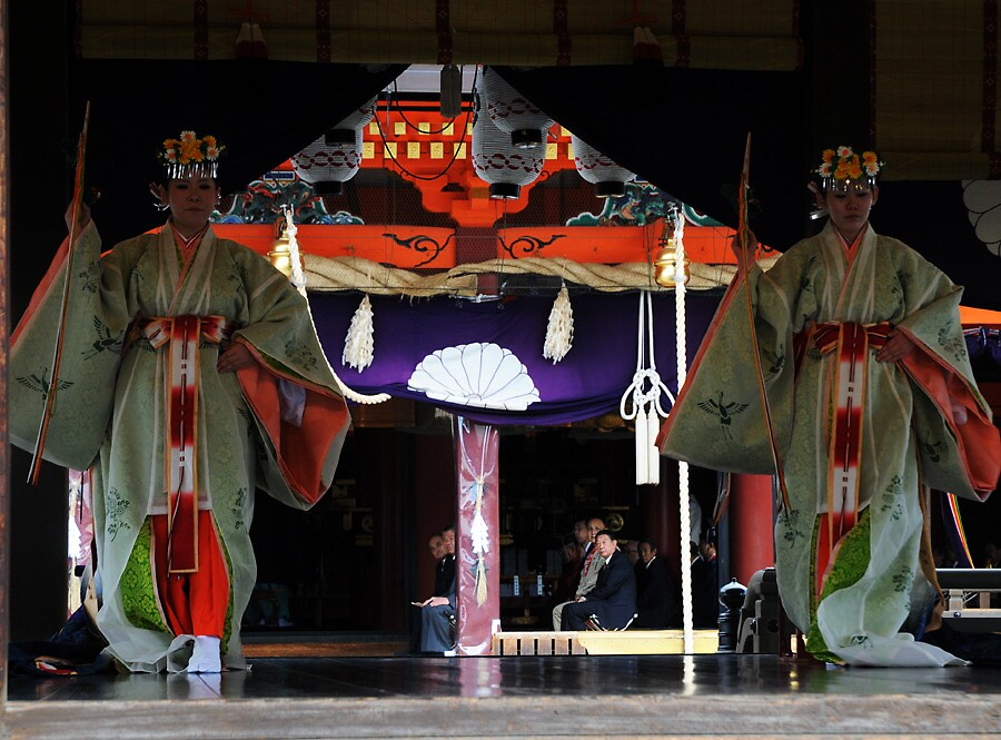Shinto Ceremonie  3 , JAPAN by eshirin